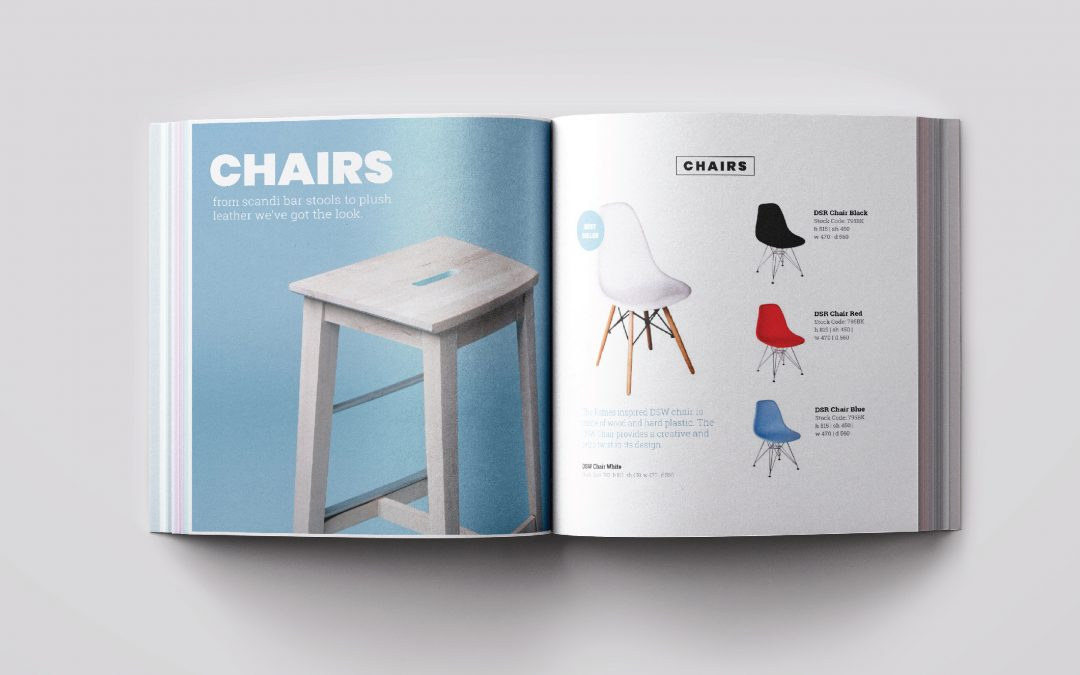 Furniture Catalogue Graphic Design