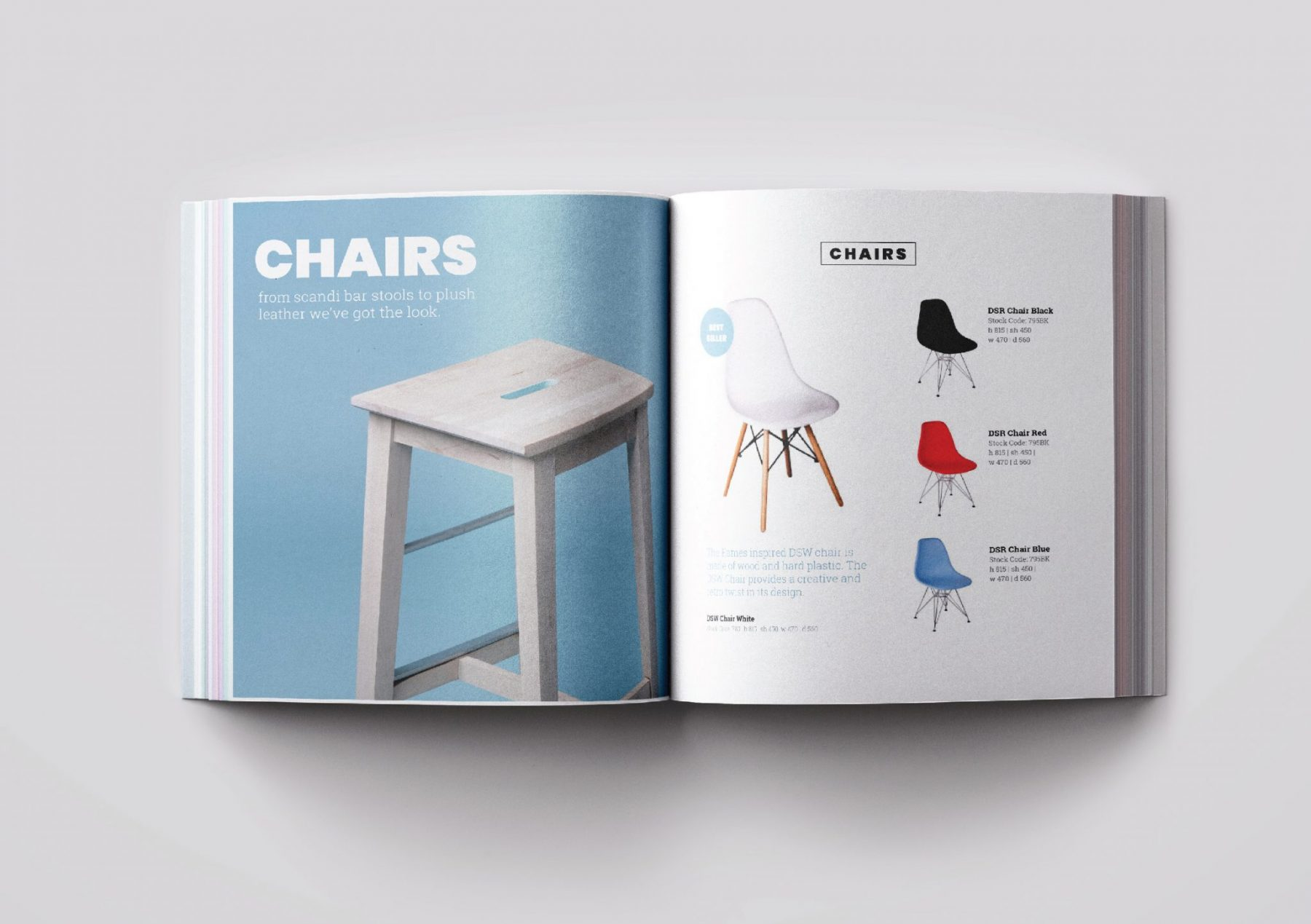 Furniture Catalogue Graphic Design