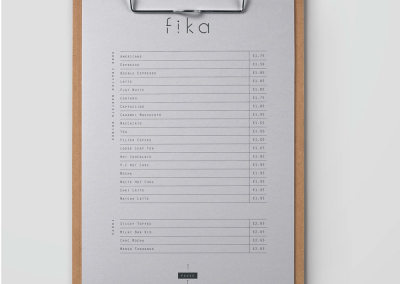 Fika Coffee Shop Branding