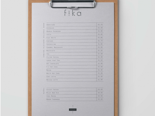 Fika Coffee Shop Branding