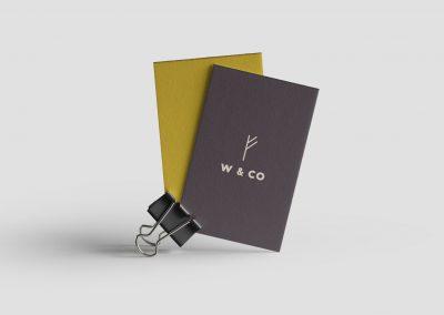 W&CO Brand Identity