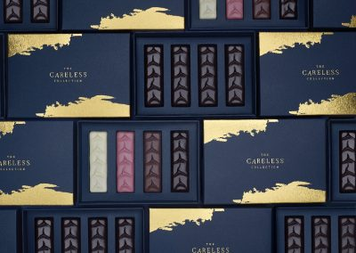 The Careless Collection: Chocolate Branding