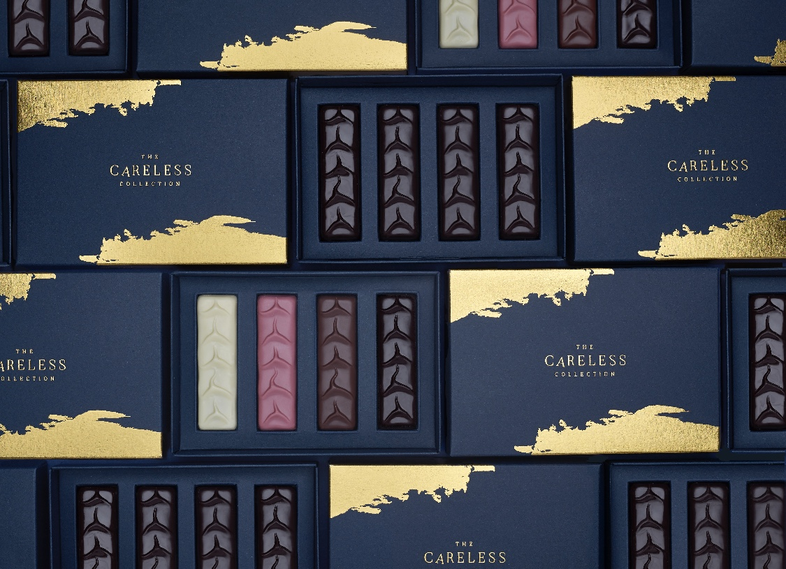 Careless Whisper Chocolate Box Packaging