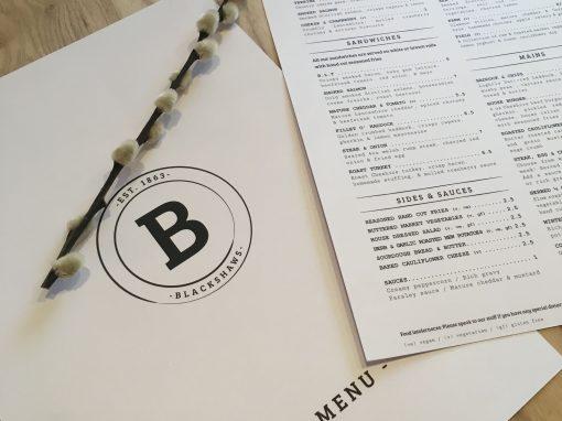 Blackshaws Urban Kitchen Branding
