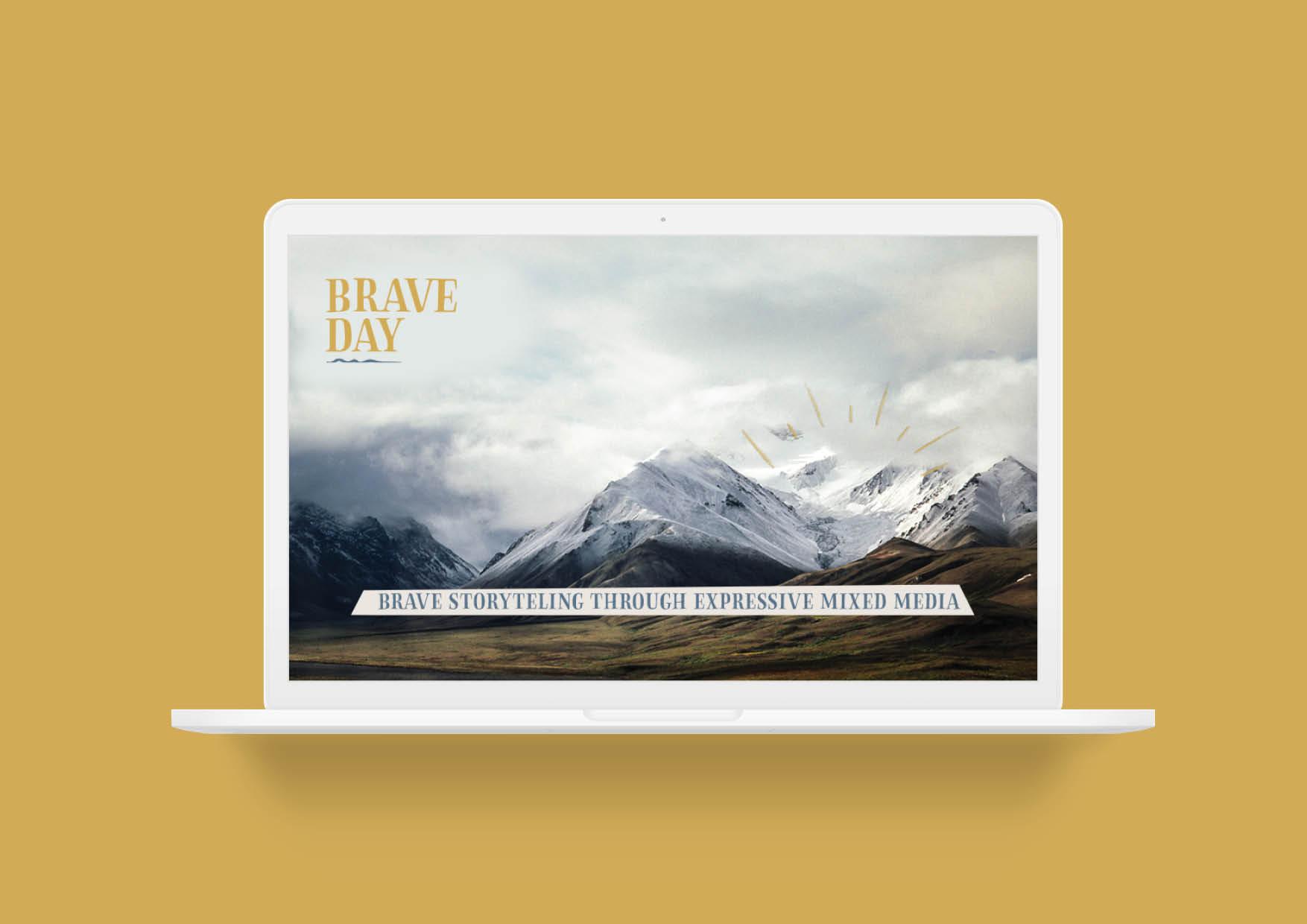 Brave Video Brand Identity Social