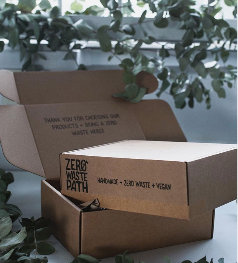 Zero Waste Path Sustainable Branding Packaging Design