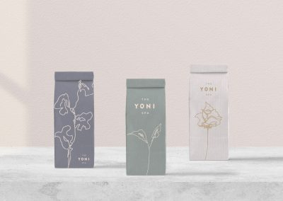 The Yoni Spa Brand Identity