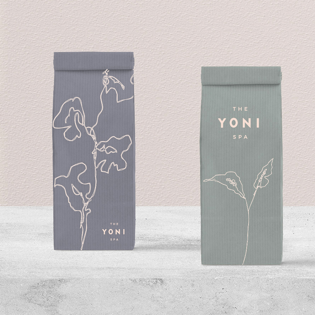 Yoni Spa Wellness Brand Identity Design