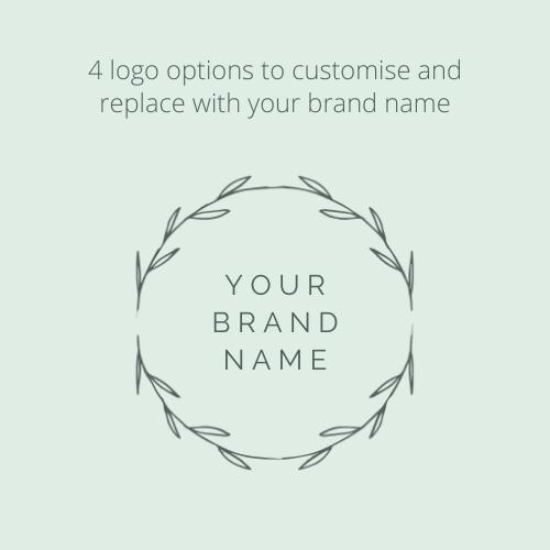 Canva Brand Kit Template Logo Design Branding