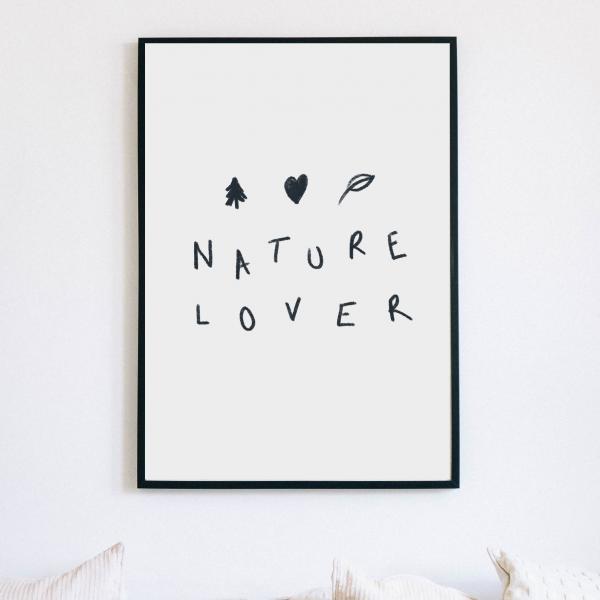 Sustainable Nature Inspired Wilderness Digital Art Print